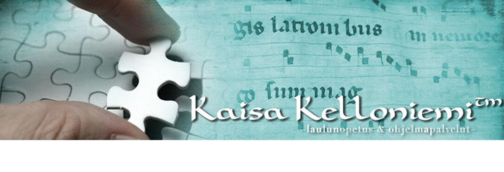 Laulukoulu Kaisa Kelloniemi